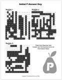 P Word Search