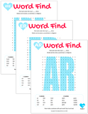 Vocalic R Word Search