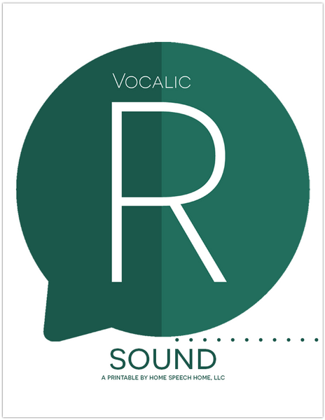 Vocalic R Sound Flashcards