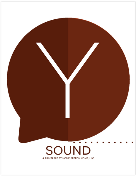 Y Sound Flashcards