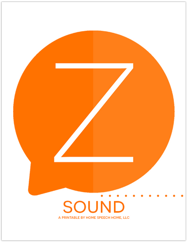 Z Sound Flashcards