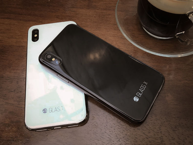 competitive price 77696 f7fe5 SwitchEasy GLASS X Worlds First GLASS iPhone X Feel Like Upgrade Case