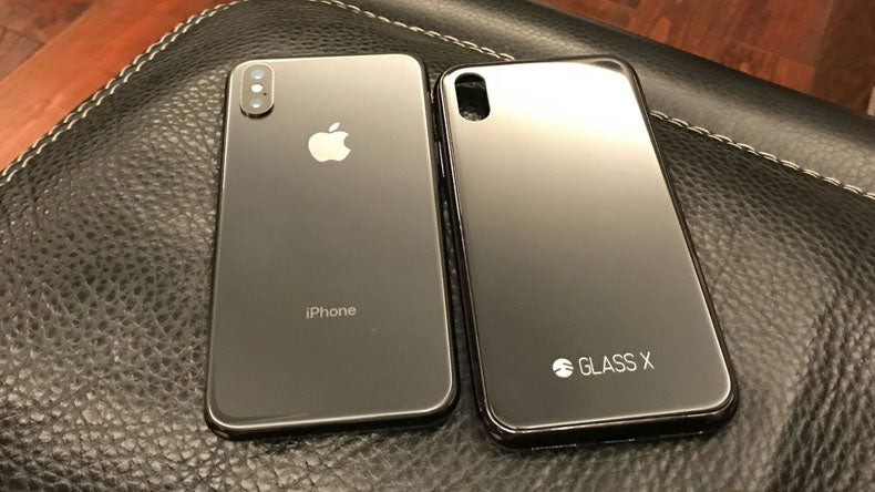 SwitchEasy GLASS X Worlds First GLASS iPhone X Upgrade Case
