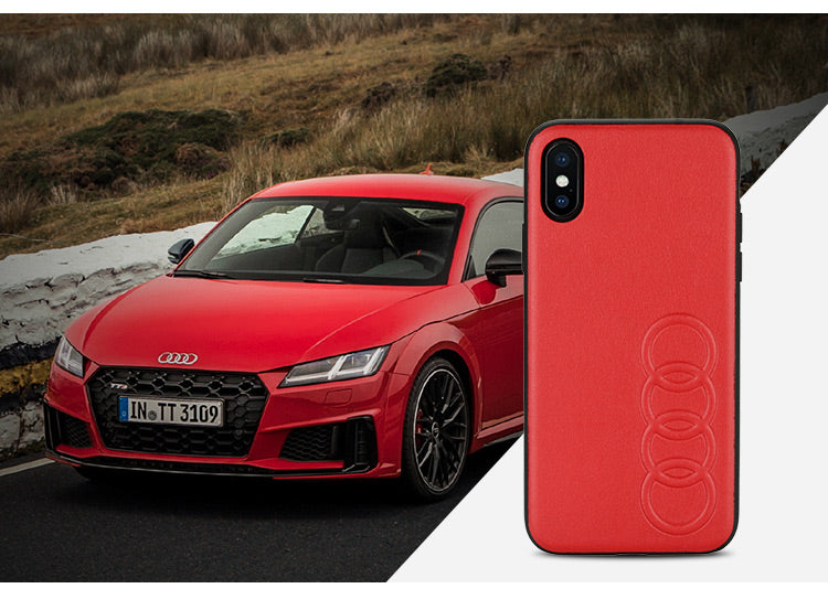 Audi TT D1 Synthetic Leather Phone Case Cover
