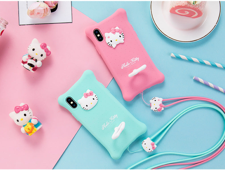 info for 36549 c44ba X-Doria Hello Kitty & My Melody Air Cushion Shockproof Silicone Case Cover  for Apple iPhone XS/X
