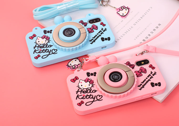 3cdf5e460 X-Doria Wit Hello Kitty Camera Bluetooth Self Timer 3D Silicone Shockproof  Case Cover for