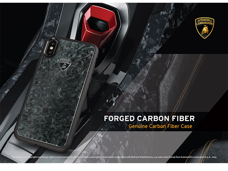 Automobili Lamborghini Elemento Genuine Forged Carbon Fiber Back Cover Case
