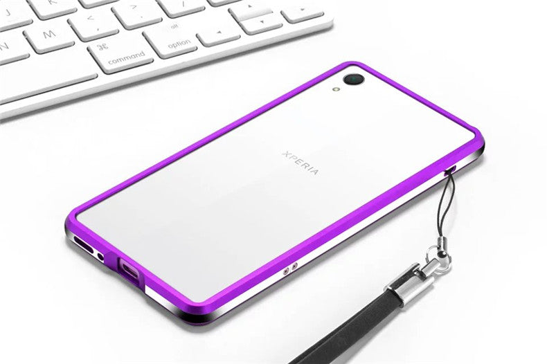 iy Dazzle Sword Bicolor Slim Light Aluminum Bumper Metal Case Cover