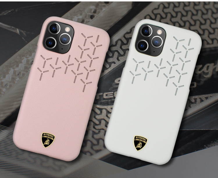 Automobili Lamborghini URUS D9 Genuine Leather Protective Case Cover