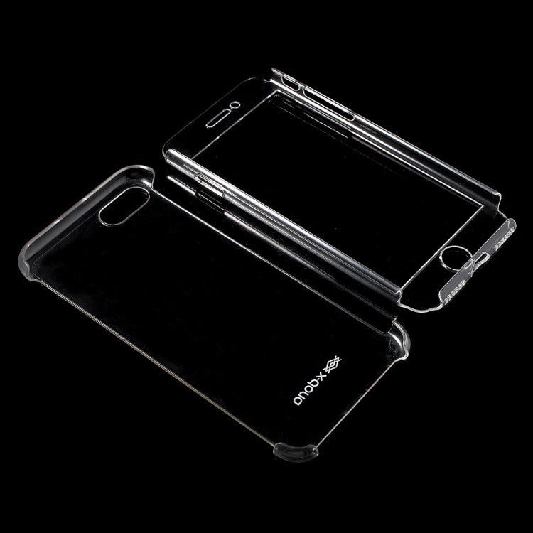 X-Doria Defense Glass 360 Full Coverage Clear PC Case Cover for Apple iPhone 8 Plus/7 Plus/7