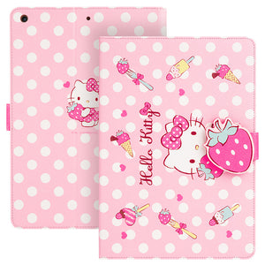 UKA Hello Kitty Auto Sleep Folio Stand Leather Case Cover for Apple iPad Pro 11-inch (2018)
