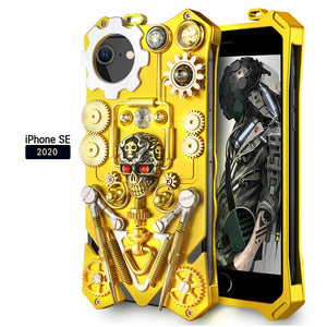 SIMON Steam Life Mechanical Gear Heavy Metal Punk Case Cover