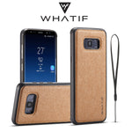 WHATIF Kraft Paper Waterproof DIY Protective Case Back Cover