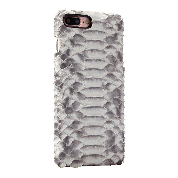 i-idea Handmade Luxury Genuine Real Python Snake Skin Leather Case Cove for Apple iPhone