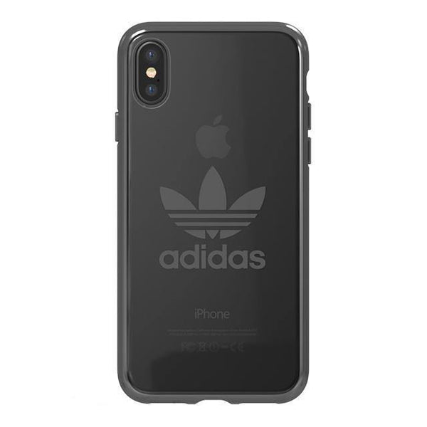 adidas Originals Trefoil Clear Case for Apple iPhone X/8 Plus/8/7 Plus/7