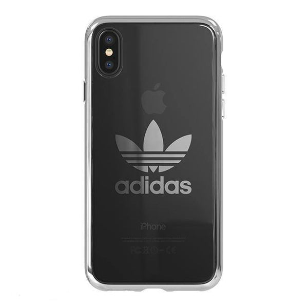 adidas Originals Trefoil Metallic Electroplating Clear Case Cover