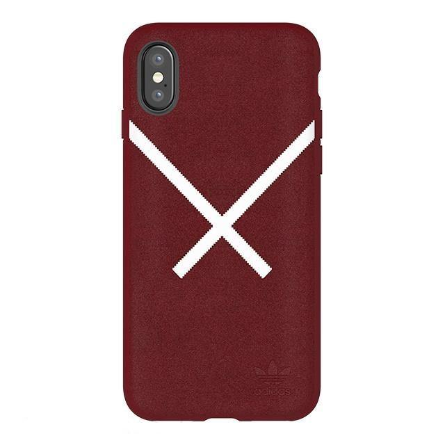 adidas Originals Plush Leather Case for Apple iPhone XS/8 Plus/8/7 Plus/7