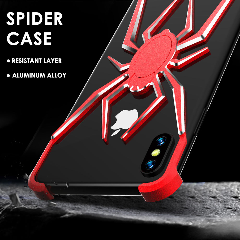 iy Spider Shockproof Aluminum Metal Bumper Case Cover