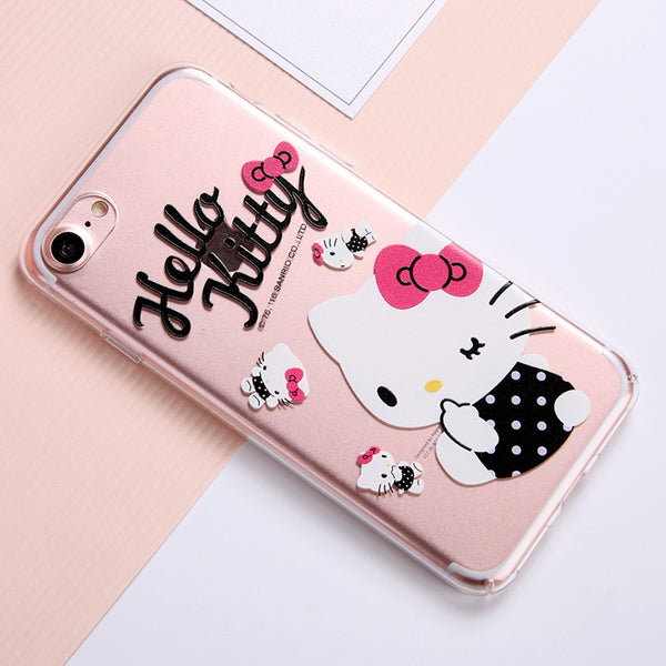 X-Doria Hello Kitty Spice Slim Transparent PC Cover Case for Apple iPhone