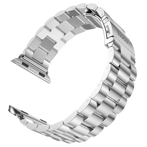HOCO Classic Buckle Stainless Steel Watchband Replacement Metal Strap for Apple Watch 42mm