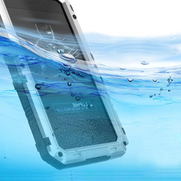 Luphie Beowulf IP68 Waterproof Diving Silicone Shockproof Aluminum Metal Case Cover