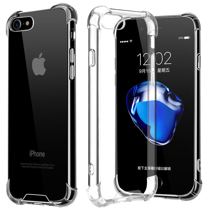 CAFELE Soft Clear Flexible TPU Extremely Shockproof Air Cushion Case Cover