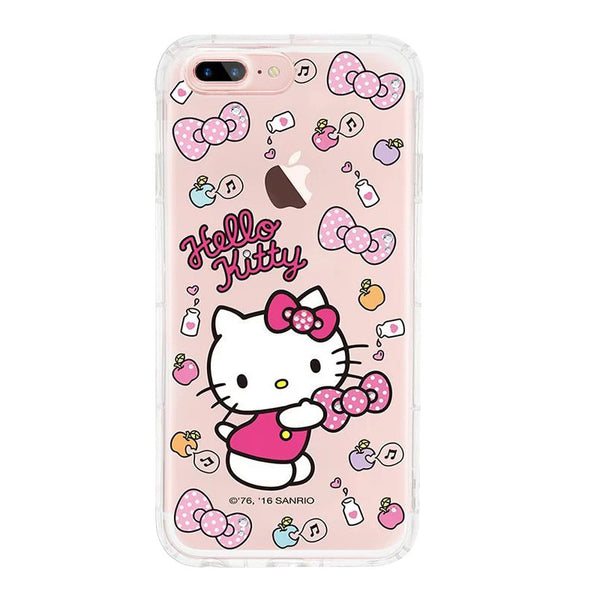 gourmandise Hello Kitty & My Melody & Little Twin Stars Air Cushion Crystal Diamonds TPU Cover Case