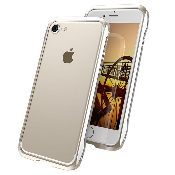 GINMIC FY Double Color Slim Light Aluminum Bumper Metal Case Cover for Apple iPhone 7 Plus/7