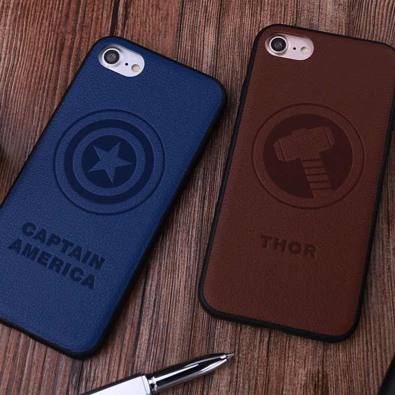 X-Doria Marvel Avengers Wise 3D PU Leather Case Cover for Apple iPhone 8 Plus/7 Plus/8/7