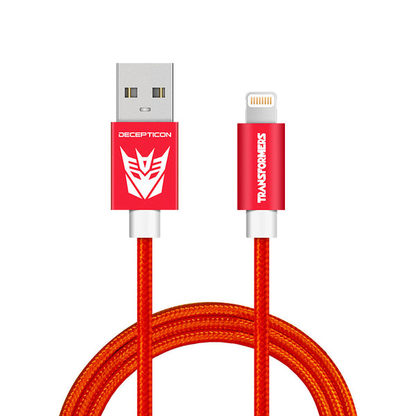 Transformers MFi Certified Charge & Sync Lighting Cable for Apple iPhone iPad iPod