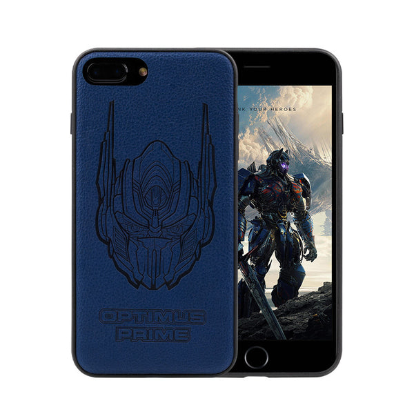 Transformers 3D Camo PU Leather Case Cover for Apple iPhone 7 Plus & iPhone 7