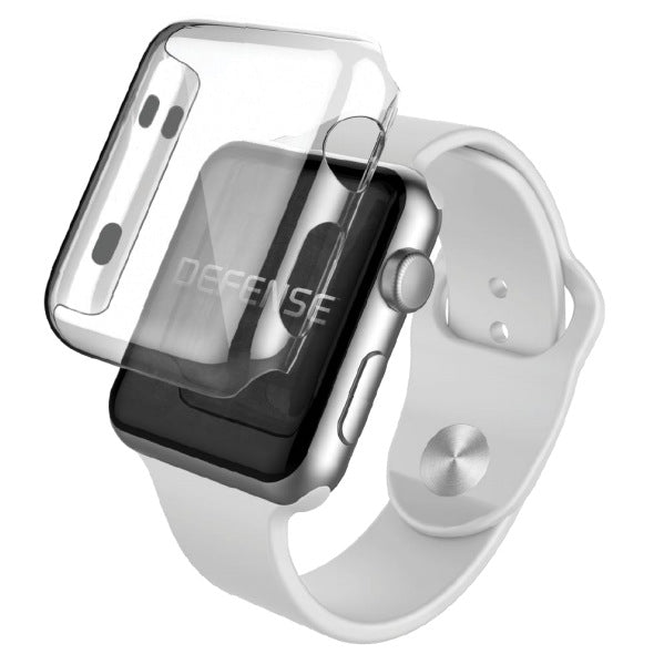 another chance cb85d 48272 X-Doria Defense 360 Ultra-Slim Transparent Case Cover for Apple Watch