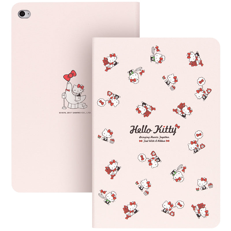 UKA Hello Kitty Auto Sleep Folio Stand Leather Case Cover for Apple iPad Pro 12.9-inch (2017) / (2015)