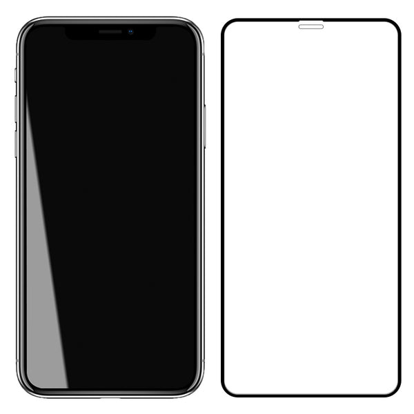 AUTOBOT UR Invisible Full Cover Tempered Glass Screen Protector Film for Apple iPhone X