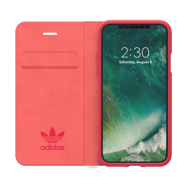 adidas Originals 70's Booklet Wallet Case for Apple iPhone X