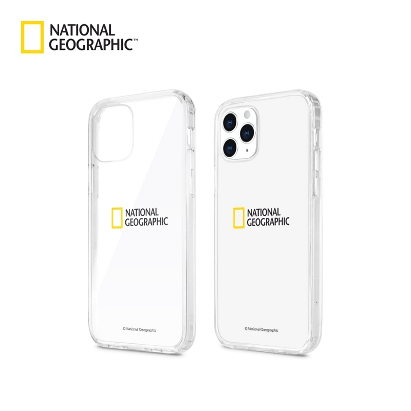 National Geographic Crystal Clear Gel Hard Case Cover