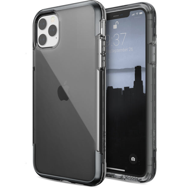 X-Doria Defense Air Military Grade Drop Tested Anodized Aluminum TPU PC Clear Case Cover