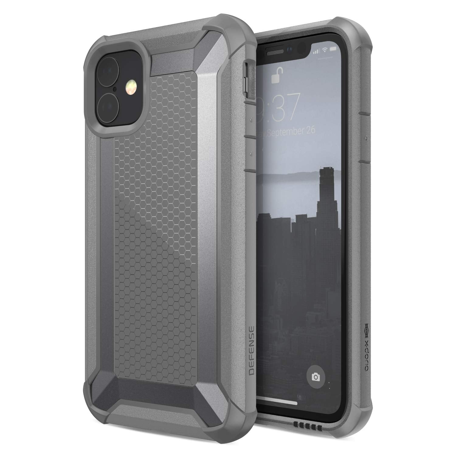 X-Doria Defense Tactical Aluminum Alloy Military Grade Drop Shield Heavy Duty Case Cover