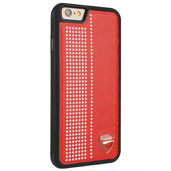 Ducati Monster D2 Synthetic Leather Back Case Cover for Apple iPhone 6S/6