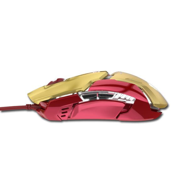 E-3LUE EMS610 Marvel Auroza Iron Man 3 4000 DPI Gaming Wired Mouse