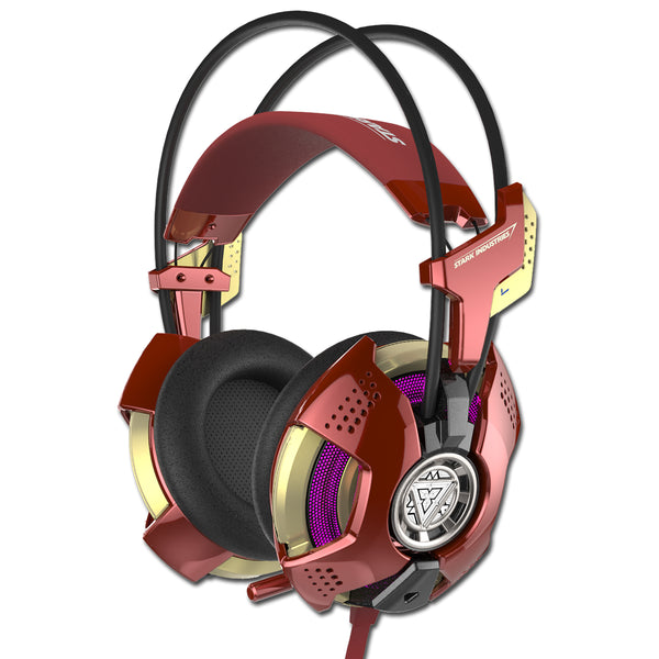 E-3LUE TSH901 Iron Man 4D Surround Stylish Backlight Gaming Headset