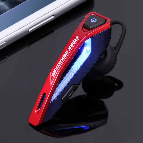 E-3LUE EBT931 Marvel Avengers Bluetooth 4.1 NFC Wireless Bluetooth Headset for Smart Phones