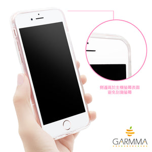 GARMMA Crystal Ball Air Cushion Soft Back Cover Case for Apple iPhone