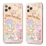 GARMMA Sanrio Characters Air Cushion Glitter Quicksand Back Case Cover