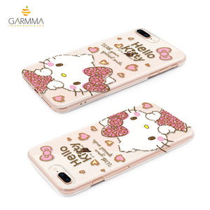 GARMMA Hello Kitty Pink PC Hard Back Cover Case for Apple iPhone X/8 Plus/7 Plus