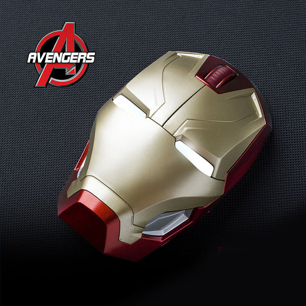Hobby Box Disney Marvel Avengers Wireless Mouse with LED Lights