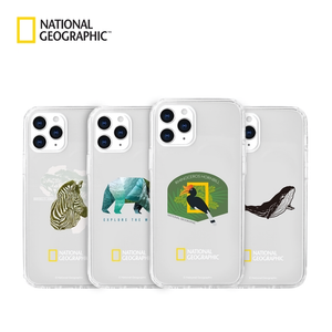 National Geographic Into the Wild Crystal Clear Gel Hard Case Cover