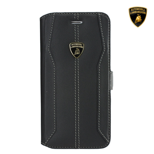 Automobili Lamborghini Huracan D1 Genuine Leather Folio Case Cover