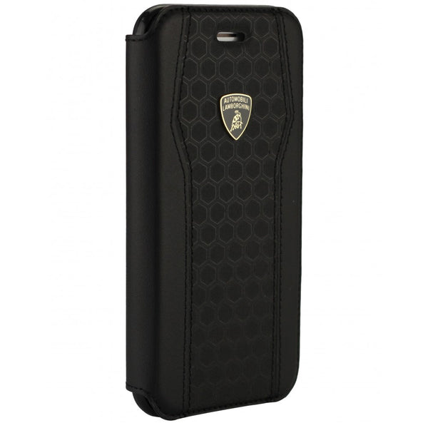 Automobili Lamborghini Huracan D8 Genuine Leather Folio Case Cover