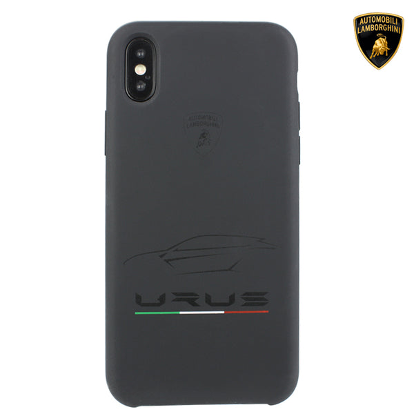 Automobili Lamborghini URUS D5 Silky Soft-touch Silicone Case Cover for Apple iPhone X